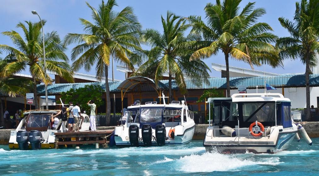 Спидбот на Мальдивах
