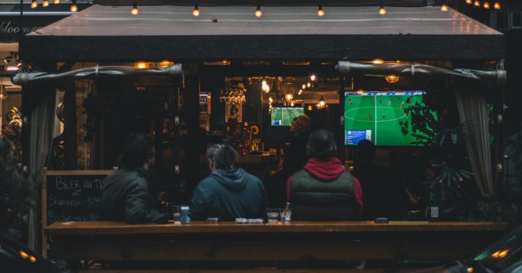 Спорт-бар в Болгарии