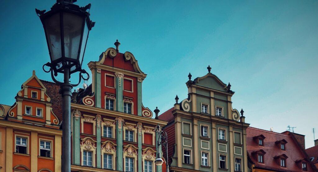 Старинная улица города Врослав