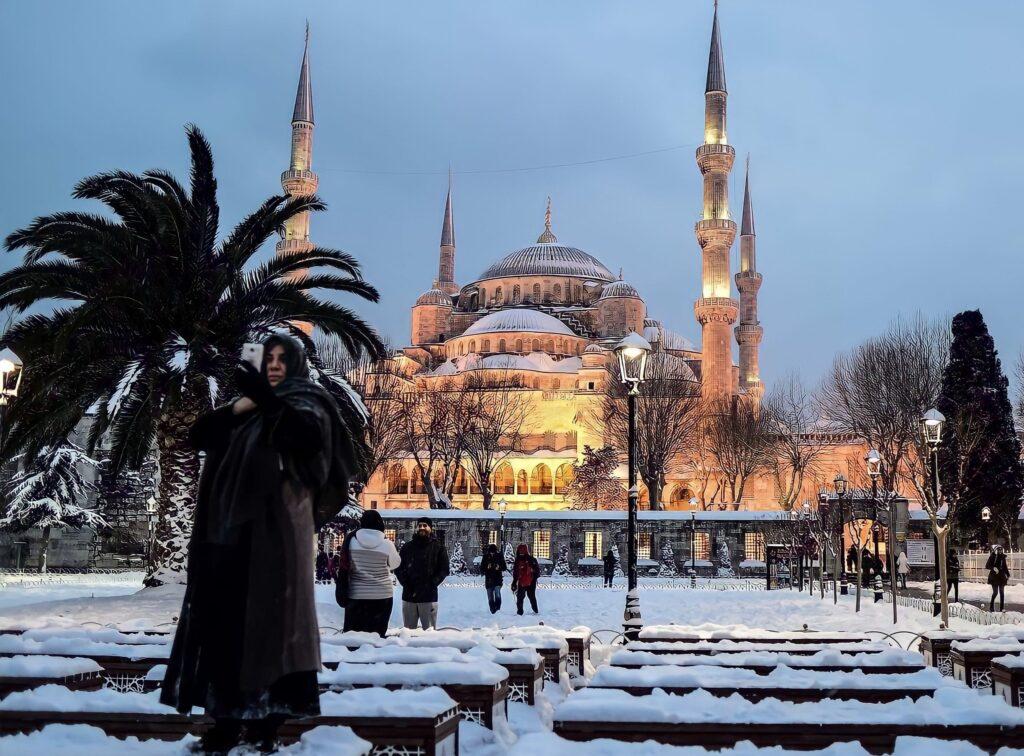 Погулять в Стамбуле зимой